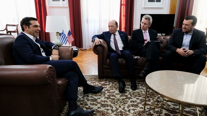 Τσίπρας: Η Ελλάδα αφήνει πίσω την κρίση -Υπ. Εμπορίου ΗΠΑ: Σας στηρίζουμε