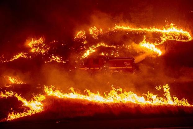 Καλιφόρνια – Στάχτη 100.000 στρέμματα (Photos)