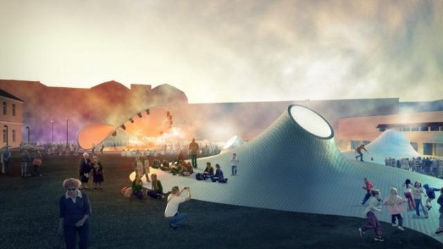 Το νέο υπόγειο μουσείο τέχνης άνοιξε τις πύλες του στο Ελσίνκι (Photos)