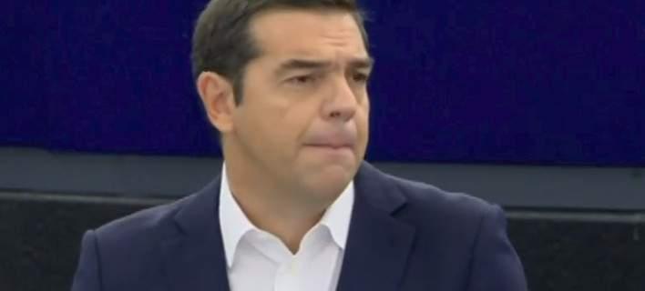 Τσίπρας στο Ευρωπαϊκό Κοινοβούλιο: Πολύ λίγοι πίστευαν ότι θα τα καταφέρω