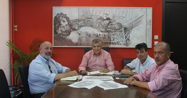 Εκτενής συζήτηση για τα έργα και δράσεις του Πανεπιστημίου Θεσσαλίας