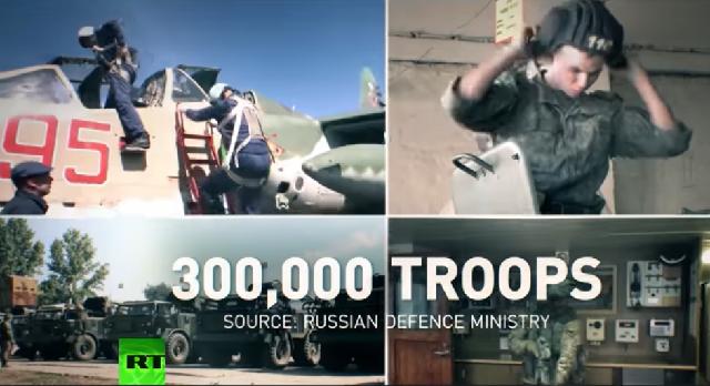 Ρωσία: Τα μεγαλύτερα στρατιωτικά γυμνάσια μετά τον Ψυχρό πόλεμο [βίντεο]