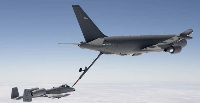 Αμερικανικά ιπτάμενα τάνκερ στην αεροπορική βάση Λάρισας