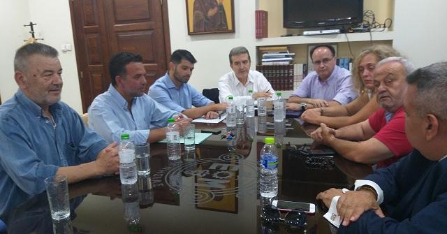 Υπόμνημα προτάσεων κατέθεσε η ΟΕΒΕΜ στη συνάντηση με τον Μιχ. Χρυσοχοϊδη