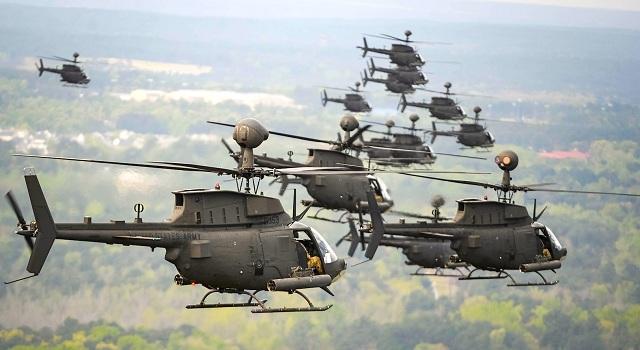 Προσγειώνονται στο Στεφανοβικειο τα Kiowa