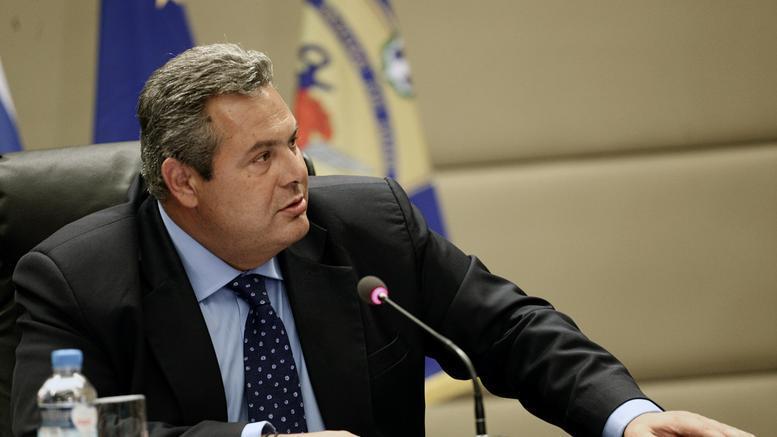 Καμμένος: Ο Ζάεφ παραβιάζει τη συμφωνία των Πρεσπών -Να ακυρωθεί