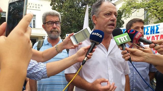 Κ. Στεργίου: Να σταματήσει η ποινικοποίηση των αγώνων κατά των πλειστηριασμών