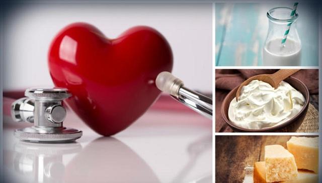 Τα πλήρη λιπαρών γαλακτοκομικά προϊόντα οδηγούν σε καλύτερη υγεία της καρδιάς
