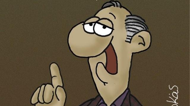 Το καυστικό σκίτσο του Αρκά για τη «ληστεία» από την υπερφορολόγηση