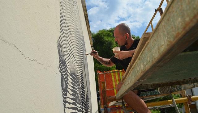 Στο 3ο Γυμνάσιο Βόλου η νέα τοιχογραφία της Urbanact