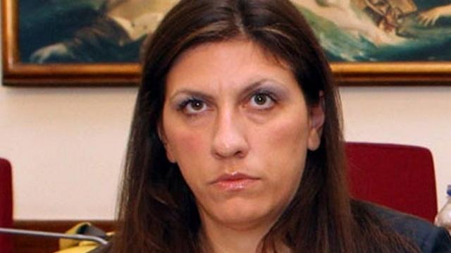 Οι διώξεις φέρνουν στον Βόλο τη Ζωή Κωνσταντοπούλου