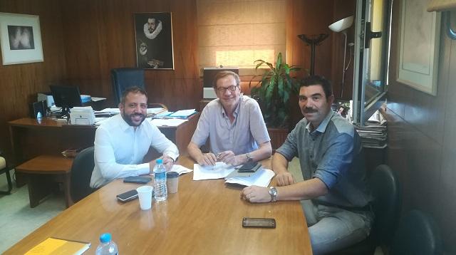 Συνάντηση Αλ. Μεϊκόπουλου με τον Διοικητή του Νοσοκομείου Βόλου