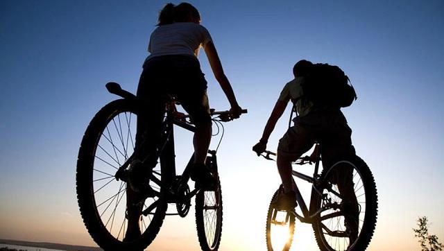 Βραδινή ποδηλατάδα στον Βόλο