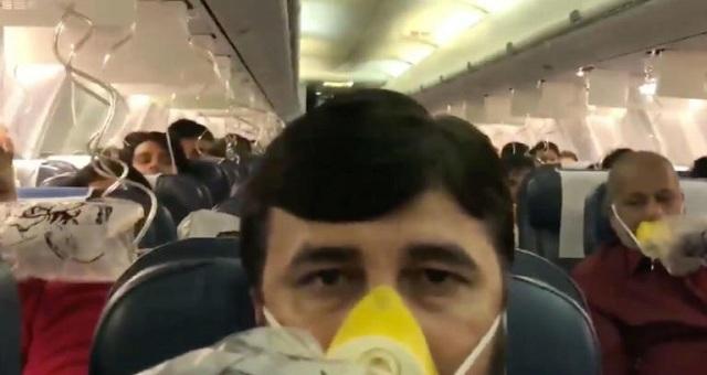 Μέσα στο αεροπλάνο του τρόμου: Έτρεχε αίμα από τις μύτες και τα αυτιά επιβατών