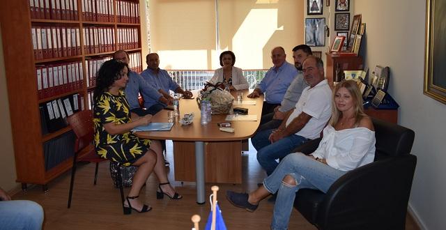 Οι ζημιές από τη θεομηνία του Ιουνίου στο επίκεντρο της συνάντησης Χρυσοβελώνη -Νασίκα