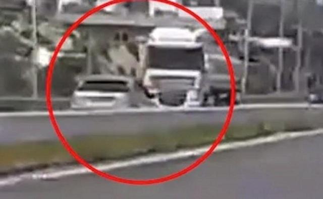 Οδηγούσε στο αντίθετο ρεύμα της εθνικής οδού με ιλιγγιώδη ταχύτητα [video]