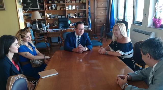 Συνάντηση του Τούρκου Προξένου με την Αντιπεριφερειάρχη Μαγνησίας