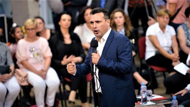 Επιμένει ο Ζάεφ: Είμαστε «Μακεδόνες» με «μακεδονική» γλώσσα [video]