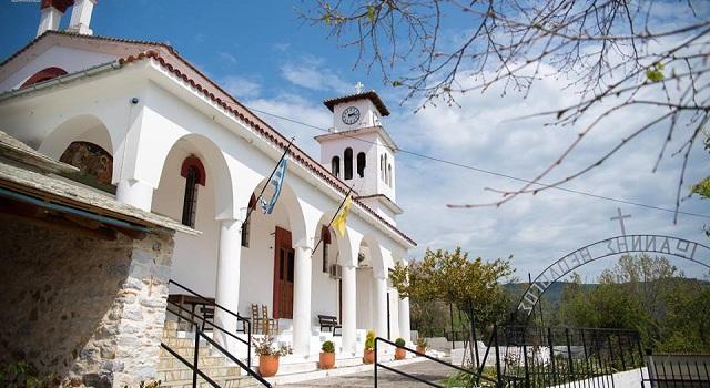 Πανηγυρίζει ο Ναός του Αγίου Ιωάννη Θεολόγου Κορώπης