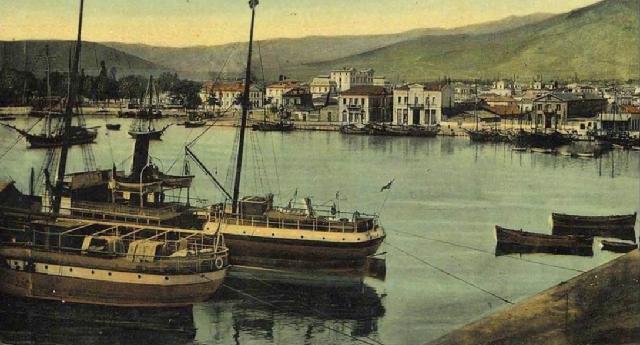 Γρηγόρης Καρταπάνης: Λιμενικά έργα του 1913