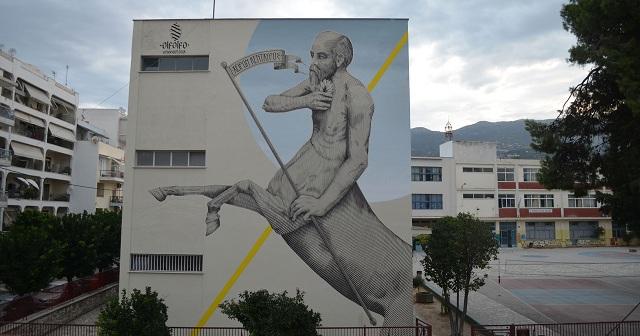 Στον Βόλο το πρώτο στην Ελλάδα «Υπαίθριο Μουσείο Τοιχογραφίας»
