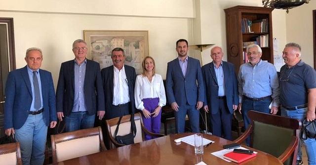 Συνάντηση των Συντονιστών Αποκεντρωμένων Διοικήσεων με τον Υπ. Εσωτερικών