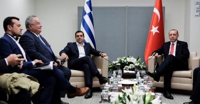 Τσίπρας –Ερντογάν: Το πρώτο τετ α τετ μετά την απελευθέρωση των Ελλήνων στρατιωτικών