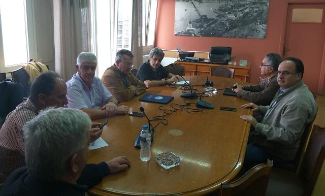 Ανέλαβαν επίσημα στον ΟΛΒ οι Π. Σκάγιαννης και Γ. Τοζίδης