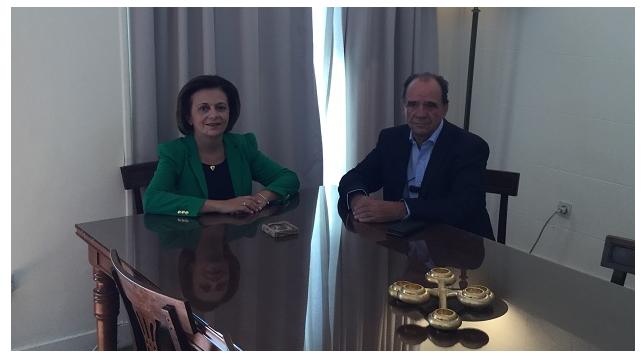 Συνάντηση Χρυσοβελώνη  με τον Δήμαρχο Ζαγοράς -Μουρεσίου