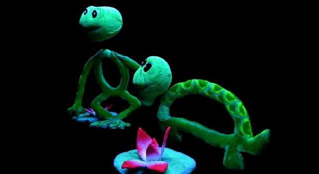 «Το βατραχάκι που πήδησε στον βάλτο» στο Τσαλαπάτα