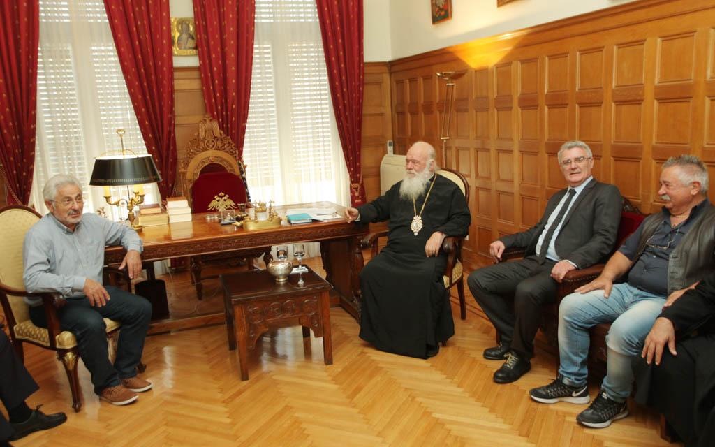 Συνάντηση των Συντονιστών Αποκεντρωμένων Διοικήσεων με τον Αρχιεπίσκοπο