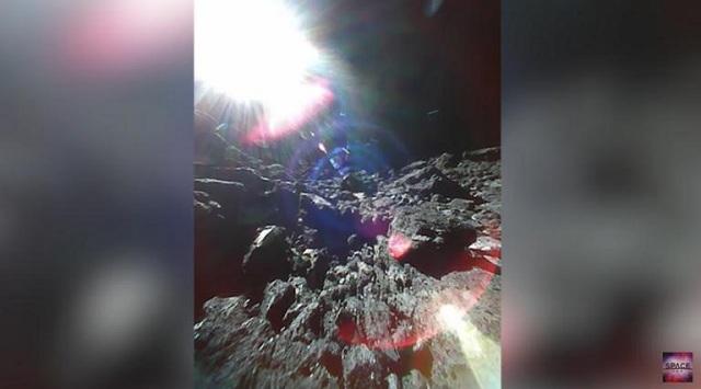 Εντυπωσιακές εικόνες από τον αστεροειδή Ριόγκου [video]