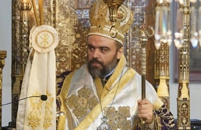 Ο Μητροπολίτης Σμύρνης στην εκδήλωση στον Βόλο για τη γιορτή του Αγίου Διονυσίου