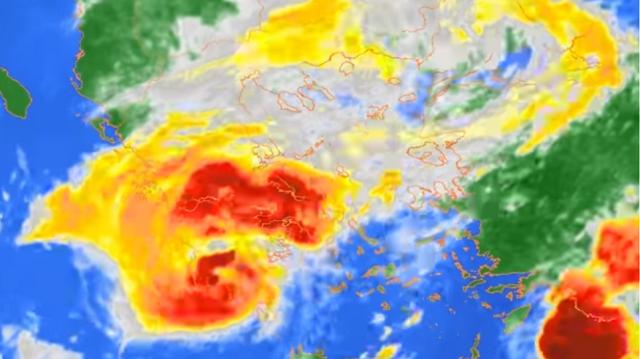 Το εντυπωσιακό βίντεο που κατέγραψε το Αστεροσκοπείο με την πορεία του κυκλώνα «Ζορμπά»