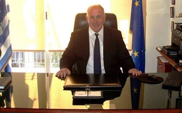 Διαμαρτυρία του Δημάρχου Ρ. Φεραίου για το κλείσιμο υποκαταστήματος Τράπεζας