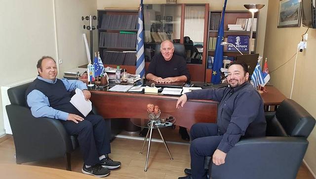 Συνεργασία του Συνδέσμου Ηλεκτρολόγων με τον Δήμαρχο Ρ. Φεραίου
