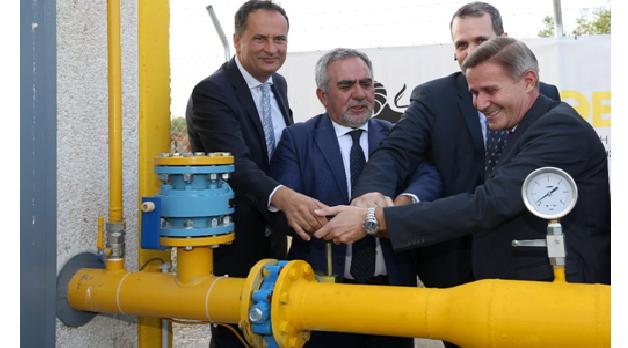 Εγκαινιάστηκε ο πρώτος σταθμός αποσυμπίεσης φυσικού αερίου στον Λαγκαδά Θεσσαλονίκης