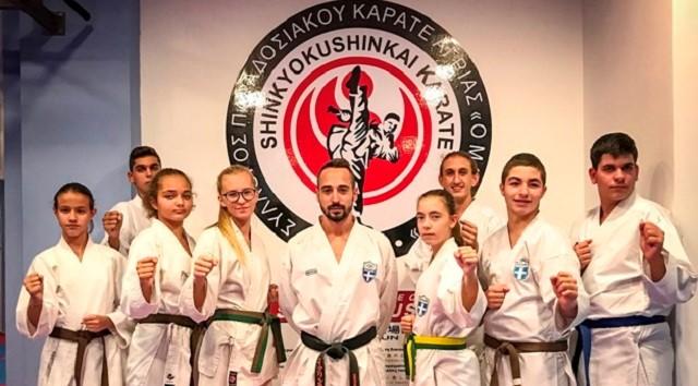 Στο Πανελλήνιο καράτε Εφήβων - Νέων οκτώ αθλητές του Μαχητή Αγριάς