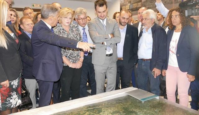 Στο Στεφανοβίκειο η Επίτροπος της Ε.Ε. και ο ΥΠΕΣ [photos]