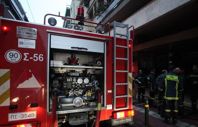 Πυρκαγιά στο Γηροκομείο Αθηνών: 6 άτομα στο νοσοκομείο