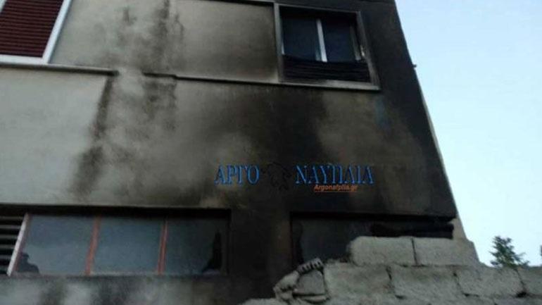 Φωτιά τα ξημερώματα σε αποθήκη στο Άργος