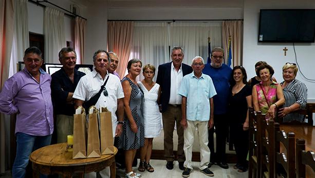 Δεσμοί φιλίας 30 ετών συνδέουν τους αδελφοποιημένους Δήμους Ζαγοράς - Μουρεσίου & Juigne