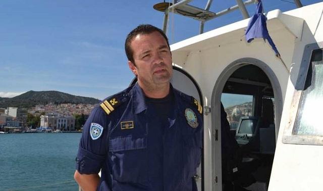 Εφυγε ξαφνικά ο ήρωας του Λιμενικού Κυρ. Παπαδόπουλος
