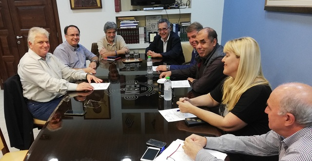 Συνάντηση της νέας Διοίκησης του ΟΛΒ με την Δ.Ε. του Επιμελητηρίου
