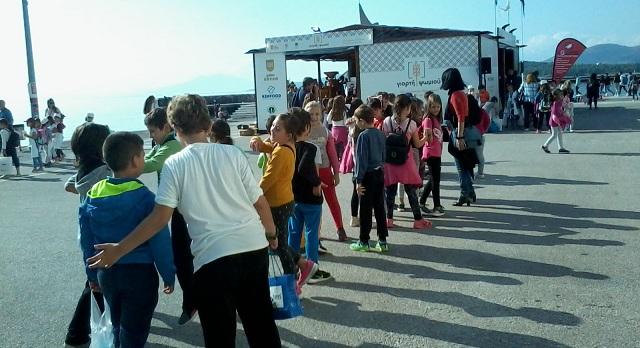 Εκατοντάδες επισκέπτες στη 2η Γιορτή Ψωμιού στην παραλία