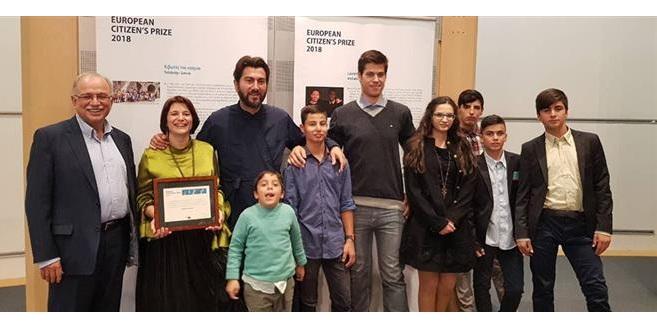π. Αντώνιος: «Το βραβείο το αφιερώνω στα παιδιά, γιατί το αξίζουν»