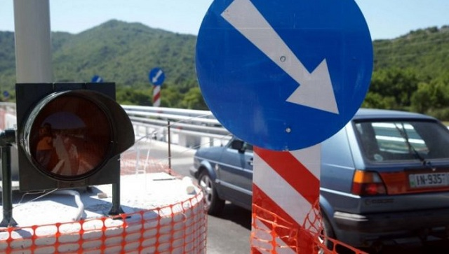 Κυκλοφοριακές ρυθμίσεις λόγω κατασκευής των πλευρικών διοδίων στον κόμβο Βελεστίνου