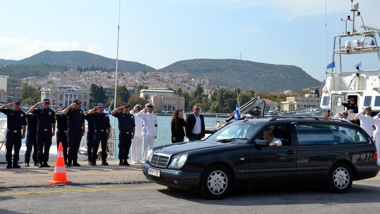 Στο σκάφος του για τελευταία φορά ο υποπλοίαρχος Παπαδόπουλος