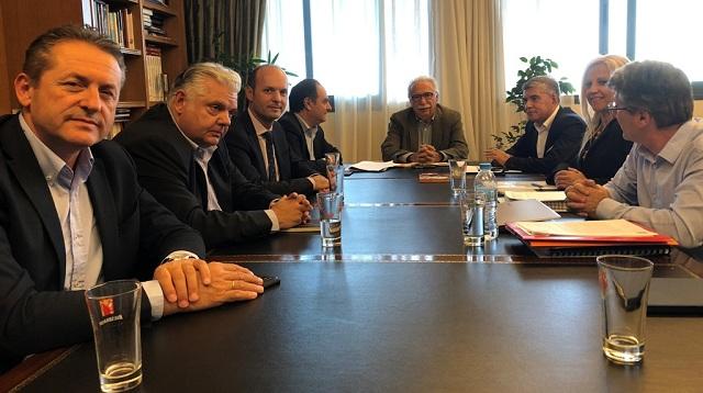 Συνάντηση Κ. Γαβρόγλου με τον Περιφερειάρχη για το νέο Πανεπιστήμιο Θεσσαλίας