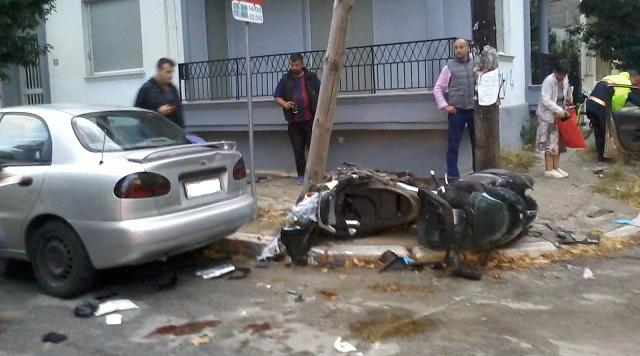 Σοβαρό τροχαίο ατύχημα στην Γαλλίας [photos]